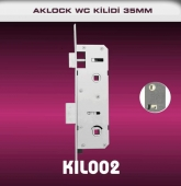AKLOCK WC KİLİDİ 35 MM